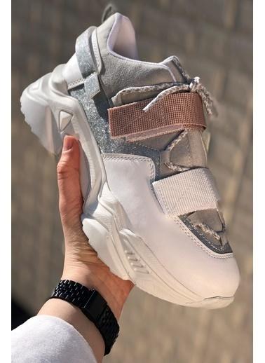 İnan Ayakkabı CIRTLI SNEAKERS Beyaz